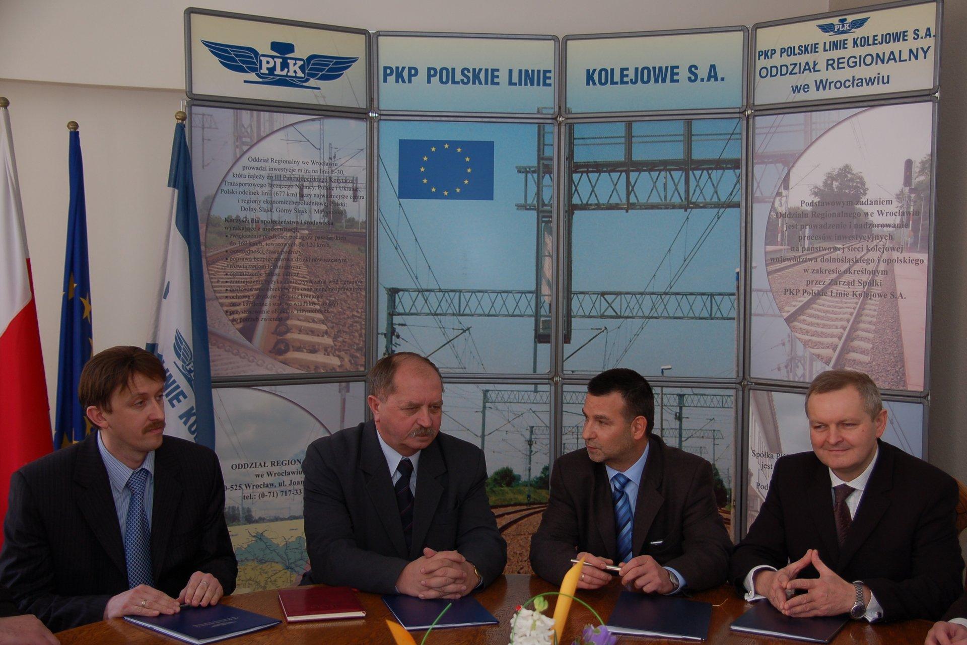 98fe308e0 Podpisanie umowy na przebudowę szlaku Malczyce-Szczedrzykowice - PKP ...