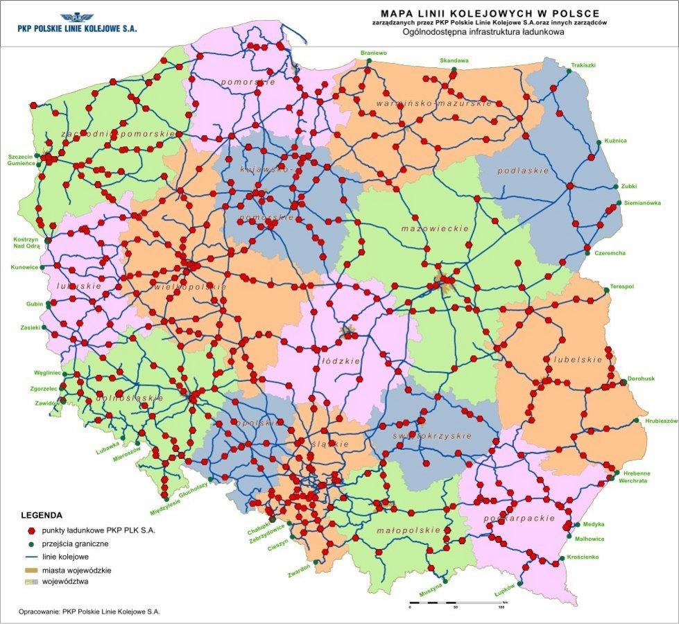 W Ultra Mapy - PKP Polskie Linie Kolejowe S.A. YW73