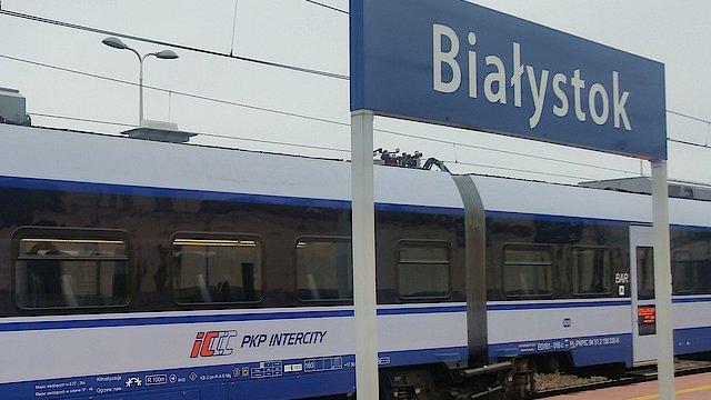 Znalezione obrazy dla zapytania: linia kolejowa ełk białystok