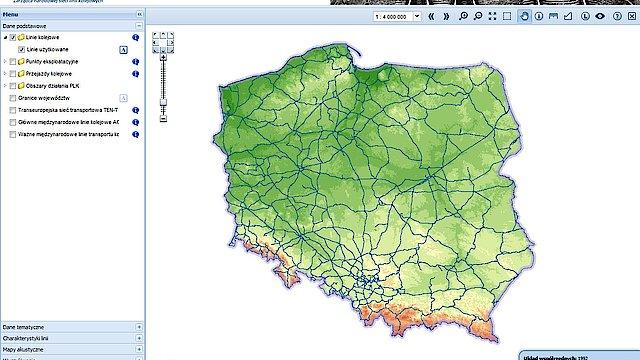 Siec Kolejowa Bez Tajemnic Mapa Interaktywna Linii Kolejowych